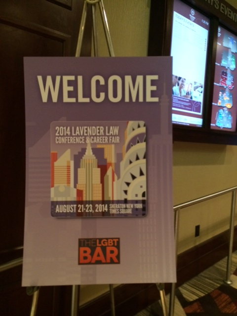 Kimberly Spotts-Kimmel Attends Lavender Law Conference in New York
