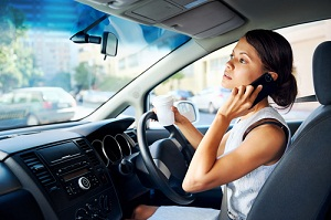 """Does Talking on a Cell Phone While Driving Constitute """"Outrageous"""" Conduct?"""