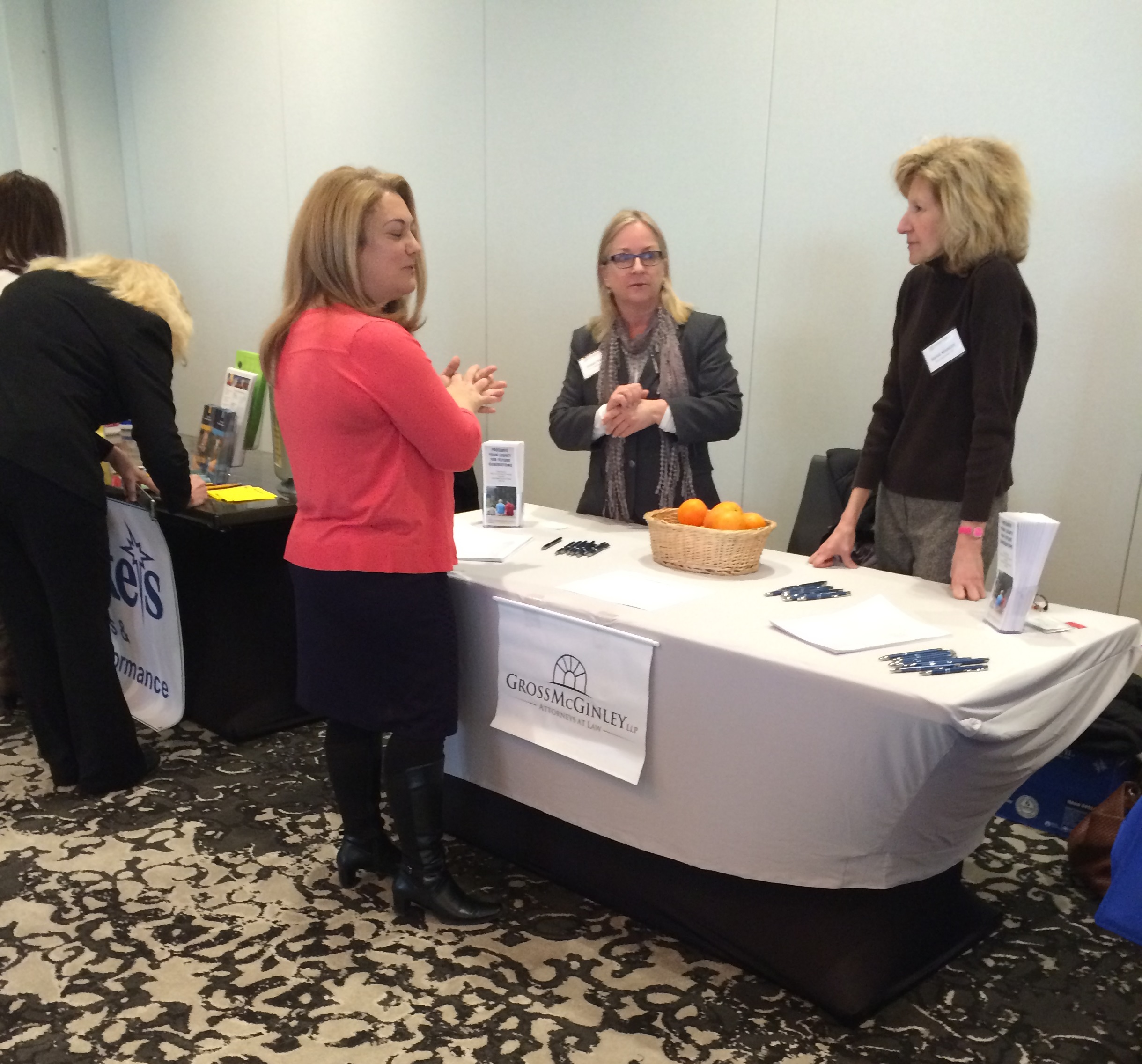Gross McGinley Attorneys Represent Firm at Chamber of Commerce Women's Health Fair