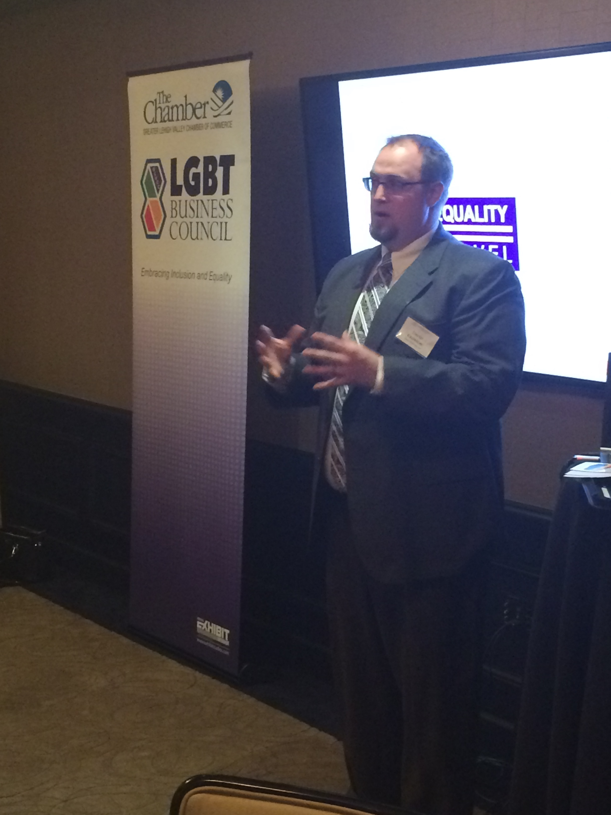 Gross McGinley Proudly Supports Chamber's LGBT Business Council at Life Lessons Event