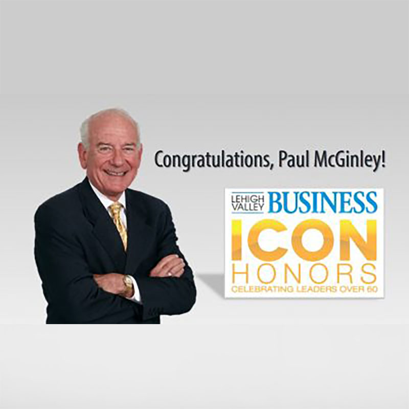 Paul McGinley Honored with Icon Award