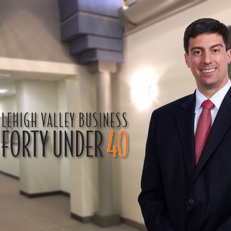 Attorney Nick Nanovic Named Forty Under 40 Honoree