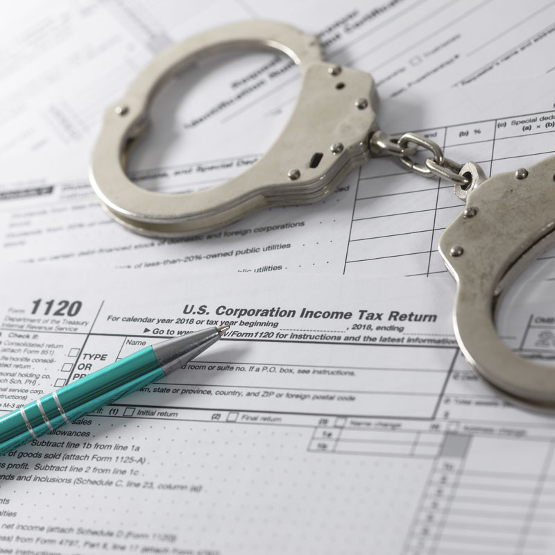 Tax Evasion Defense Lawyers